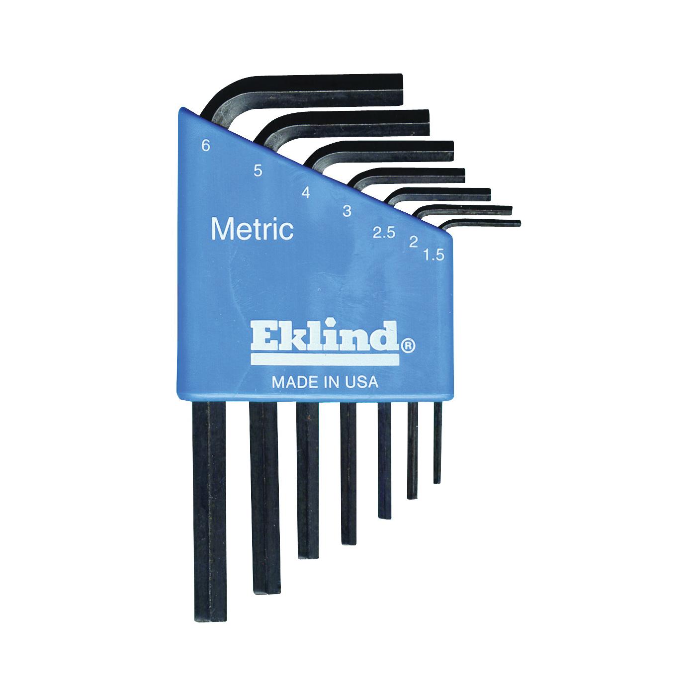 Picture of Eklind 10507 Hex Key Set, 7 -Piece, Steel, Black