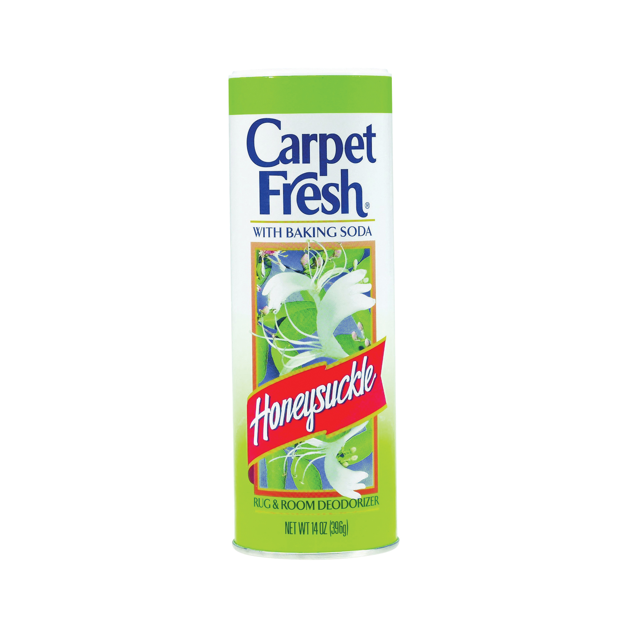 Picture of Carpet Fresh 275149 Carpet and Room Deodorizer White, 14 oz Package, Can, Honeysuckle, White