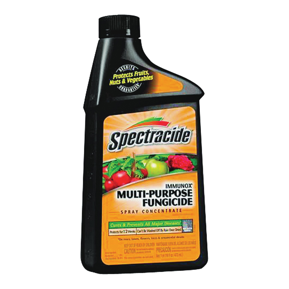 Picture of Spectracide HG-51000 Fungicide, Liquid, Mild Solvent, Light Yellow, 1.3 gal Package, Bottle