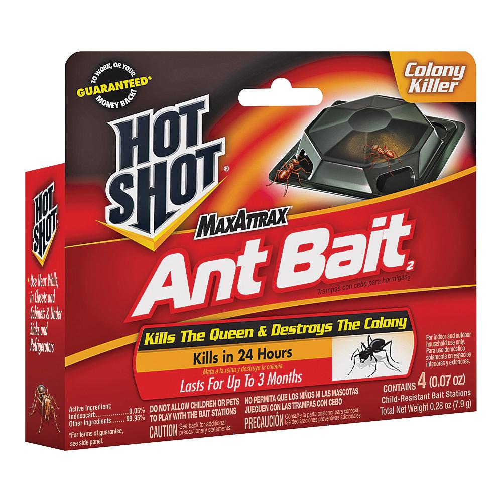 Picture of Hot-Shot MaxAttrax 2040W Ant Bait, Paste, Peanut