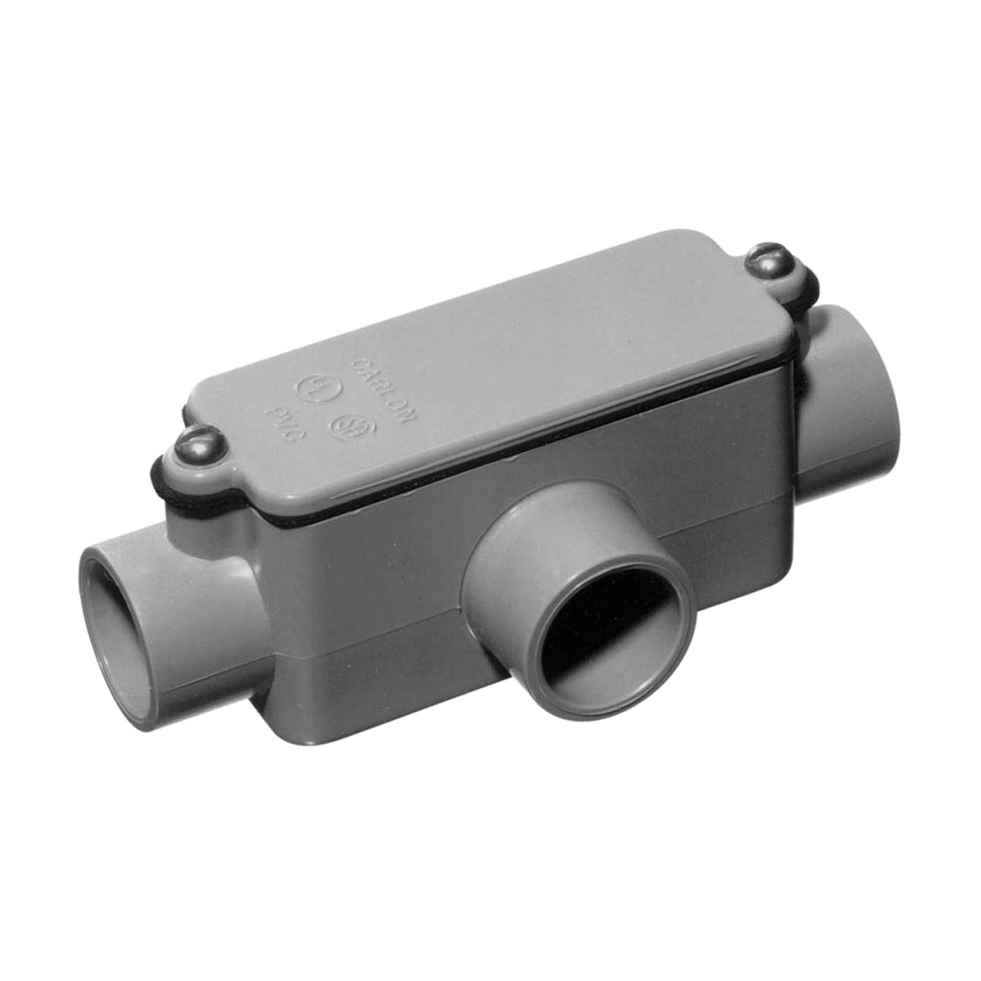 Picture of Carlon E983FR-CTN Conduit Body, PVC, Gray