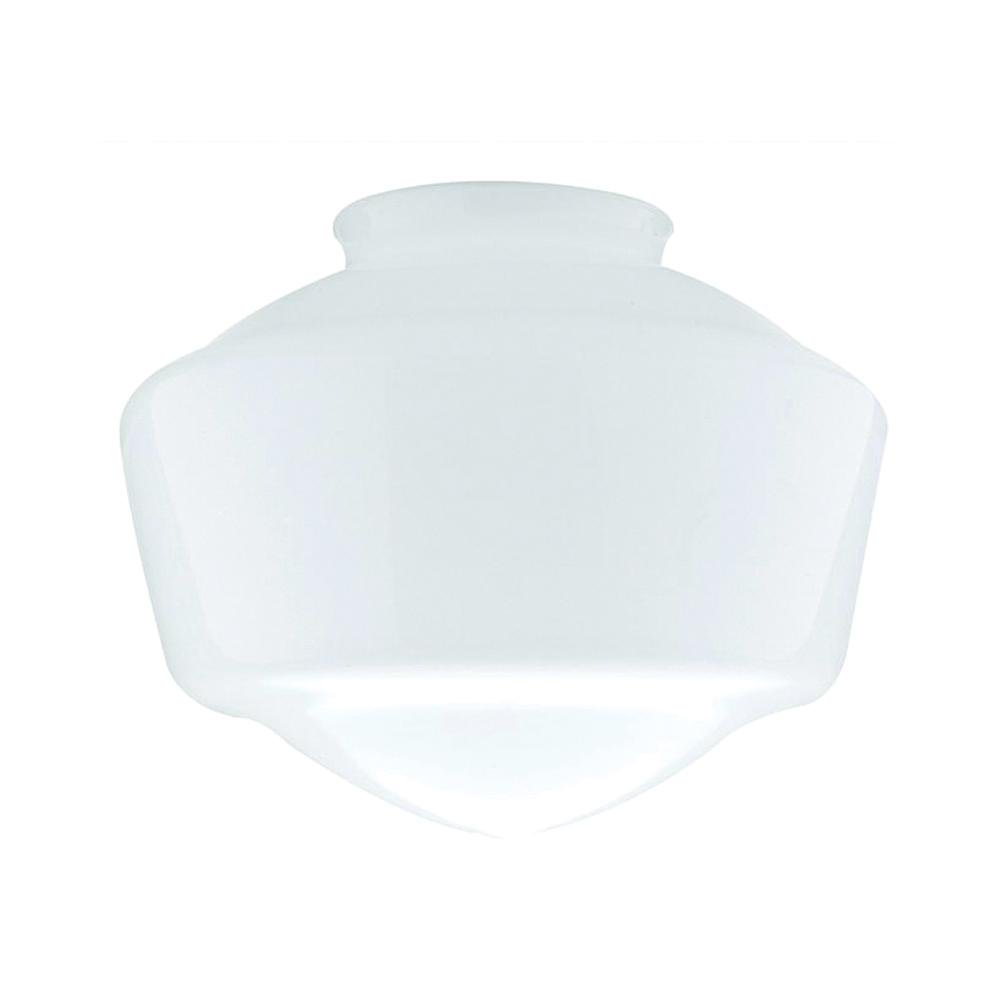 Picture of Westinghouse 8552800 Light Shade, 8-1/2 in Dia, Schoolhouse, Glass