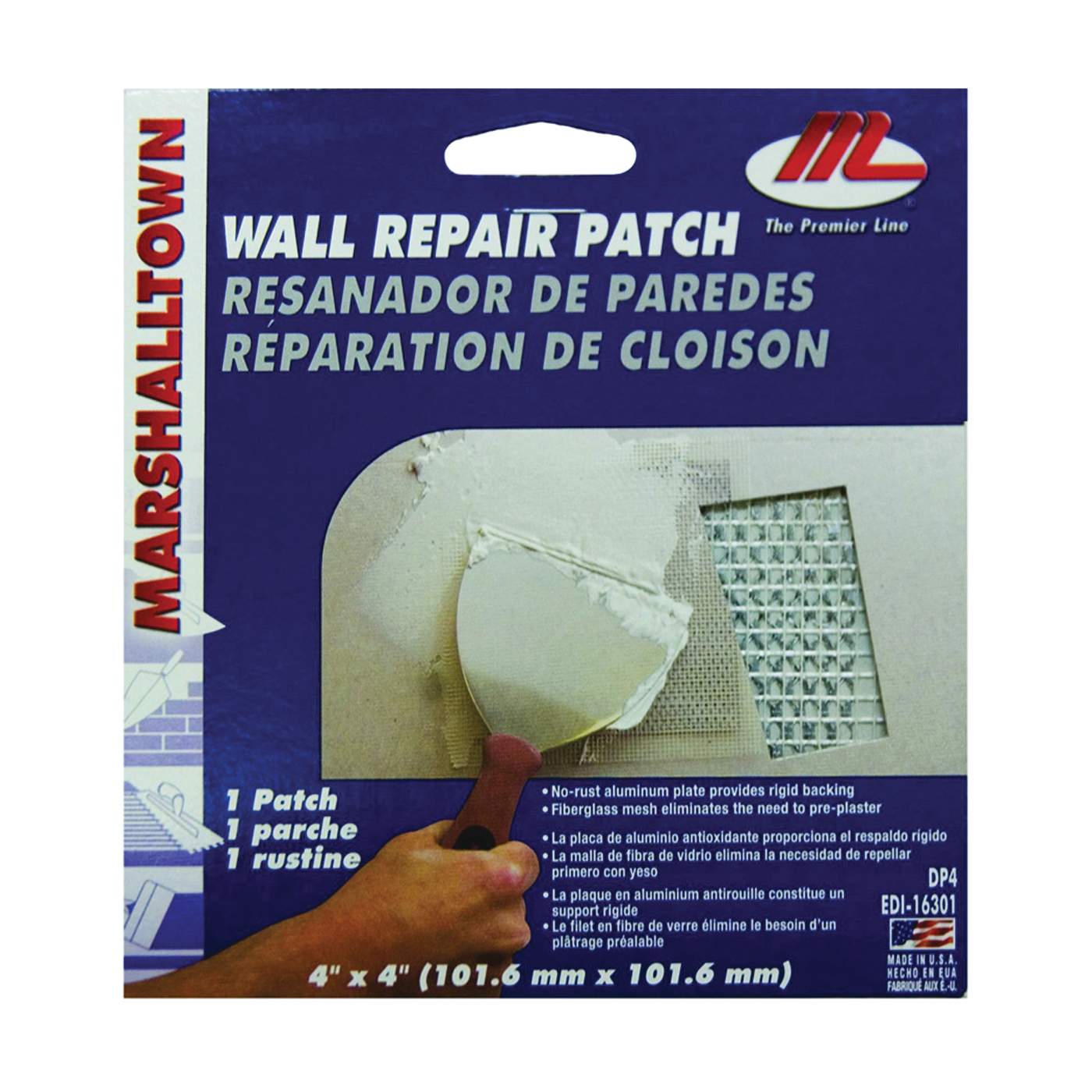 Picture of Marshalltown DP4 Drywall Patch Kit