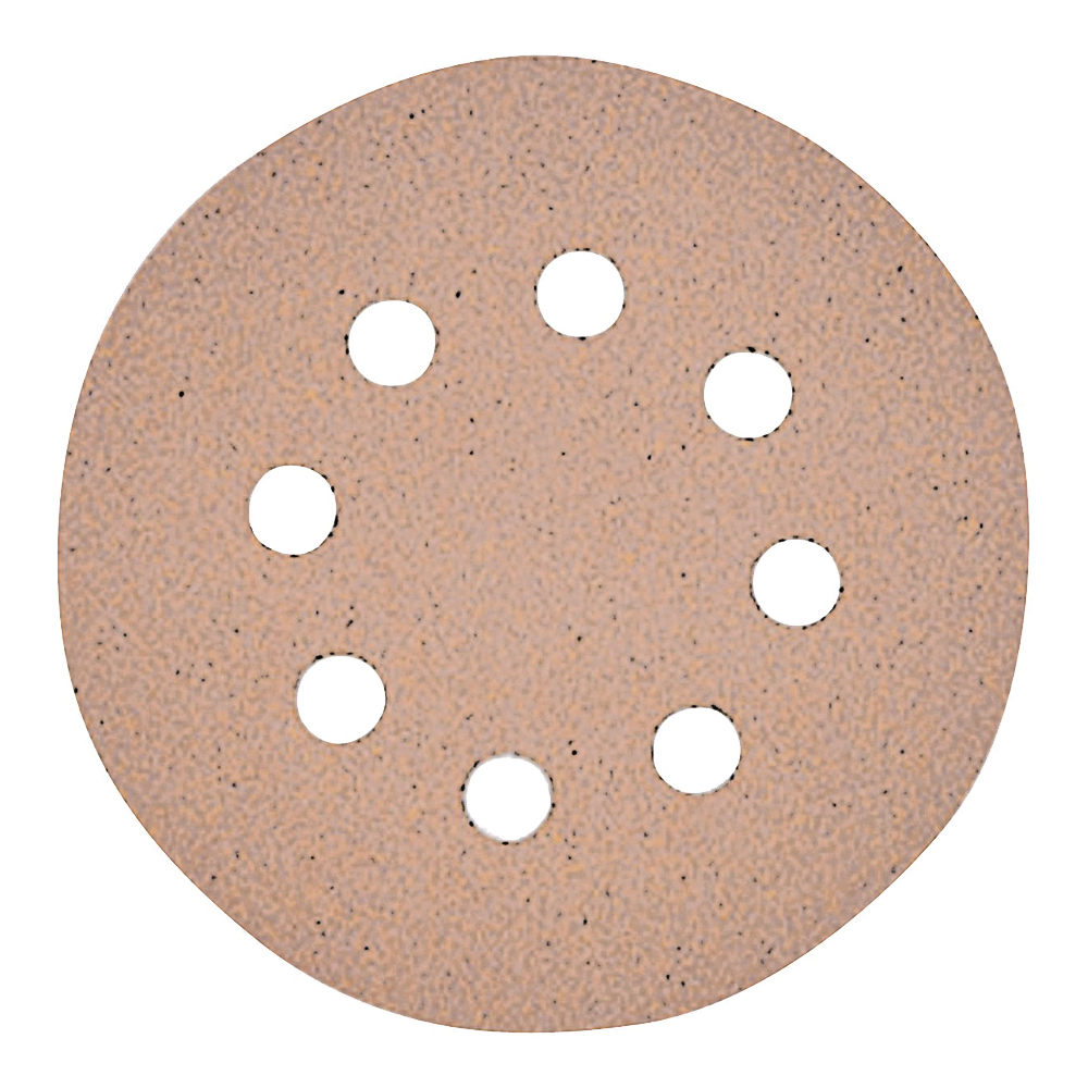 Picture of DeWALT DW4307 Sanding Disc, 5 in Dia, Coated, Aluminum Oxide Abrasive, Paper Backing, 8-Hole