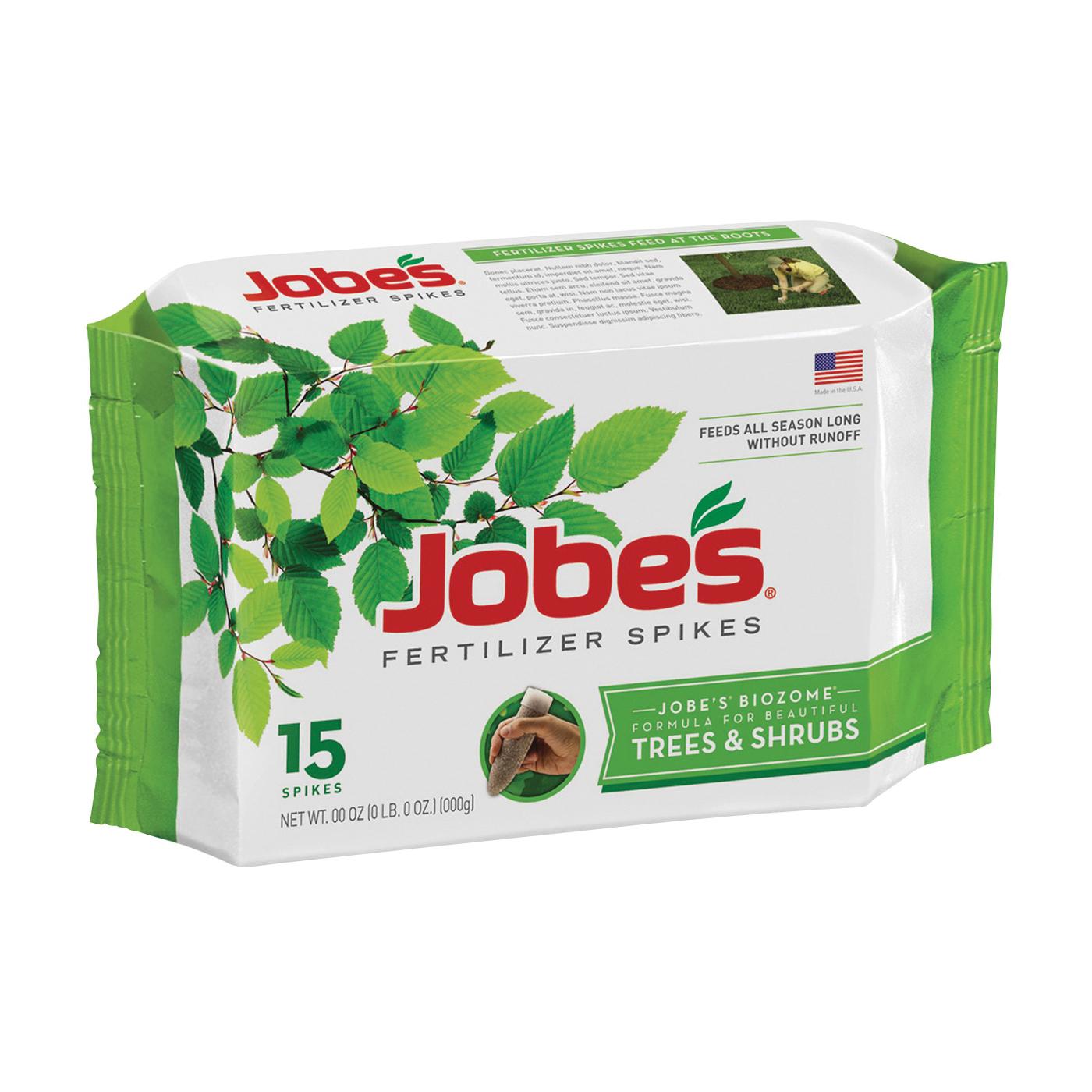 Picture of Jobes 01610 Fertilizer Spike Pack, Spike, Gray/Light Brown, Slight Ammonia, Pack