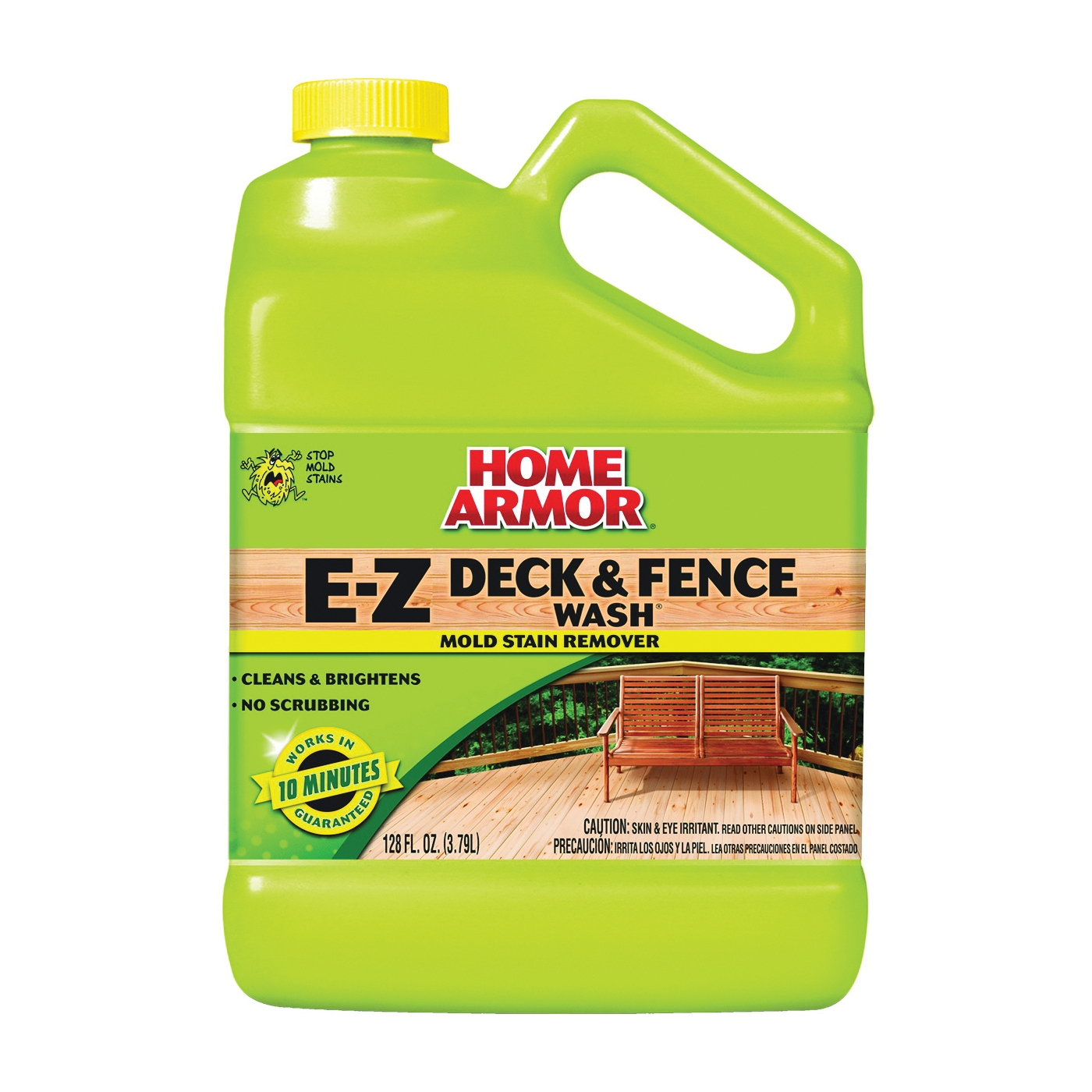 Picture of Mold Armor FG505 Deck and Fence Wash, Liquid, Yellow, 1 gal, Spray Dispenser