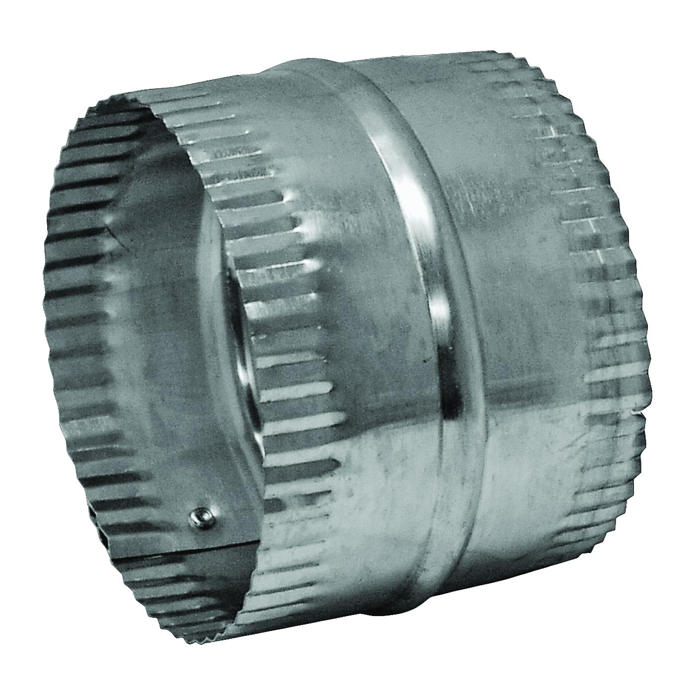 Picture of Lambro 244 Duct Connector, 4 in Union, Aluminum