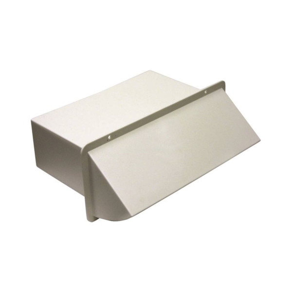 Picture of Lambro 1170W Wall Cap, Plastic, White, For: 10 x 3-1/4 in Hoods