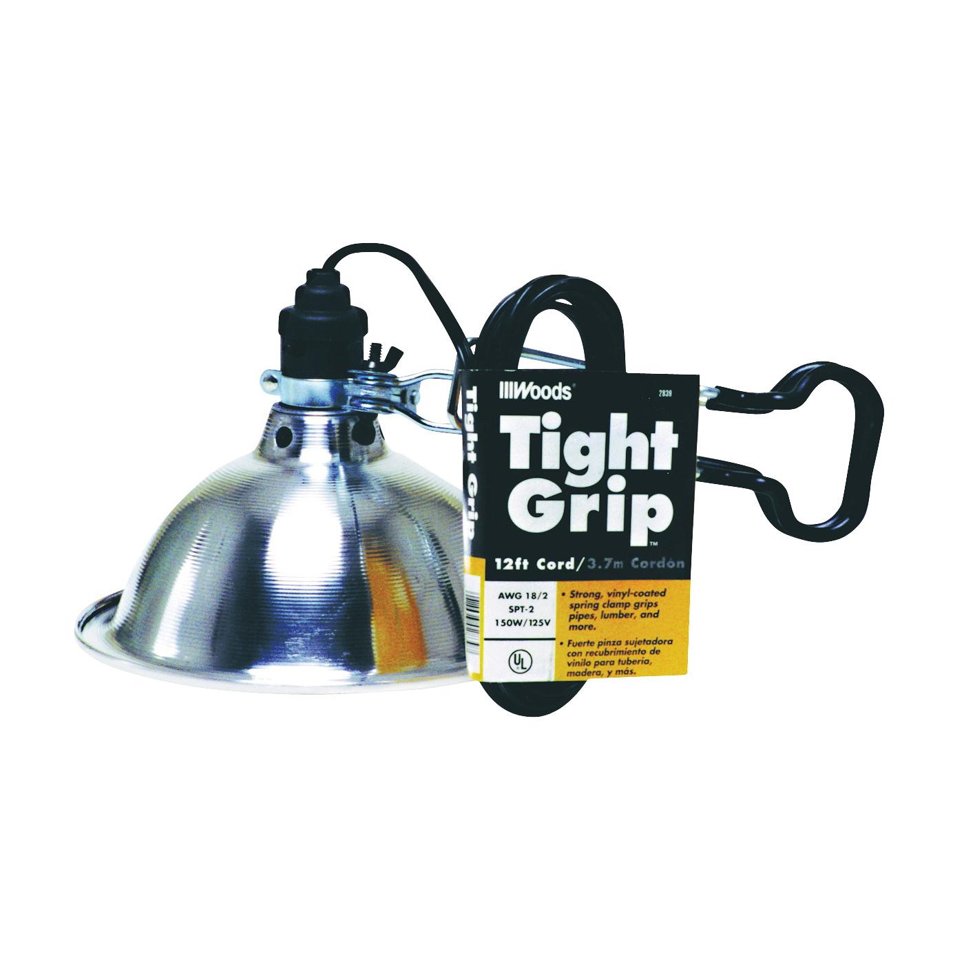 Picture of CCI 2839 Clamp Light, Incandescent Lamp, Black