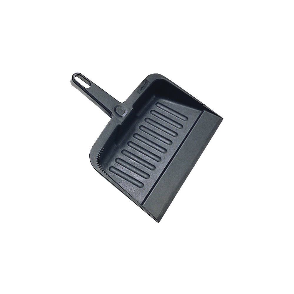 Picture of Rubbermaid 200500CHAR Dustpan, 12.2 in L, 8.2 in W, Polypropylene, Charcoal