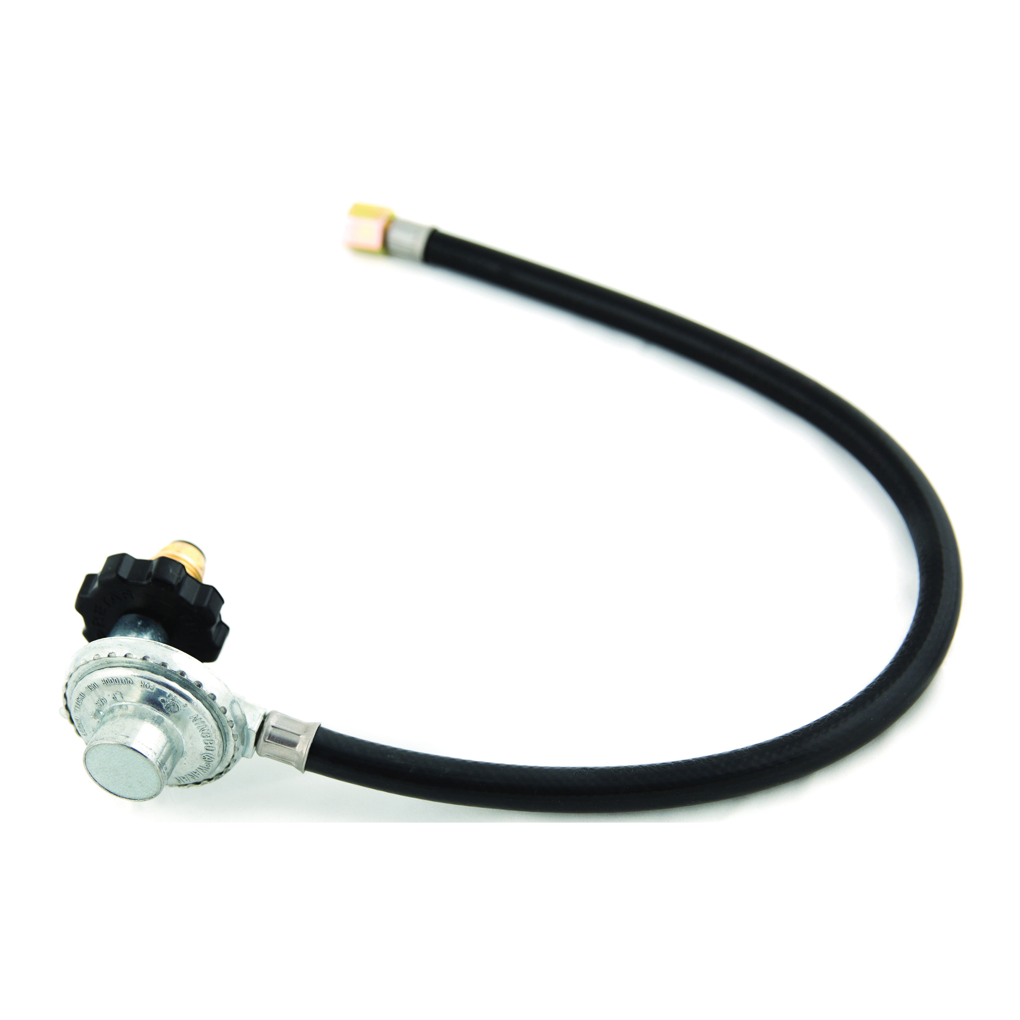 Picture of GrillPro 80024 Hose and Regulator, 24 in L Hose, For: LP Appliances