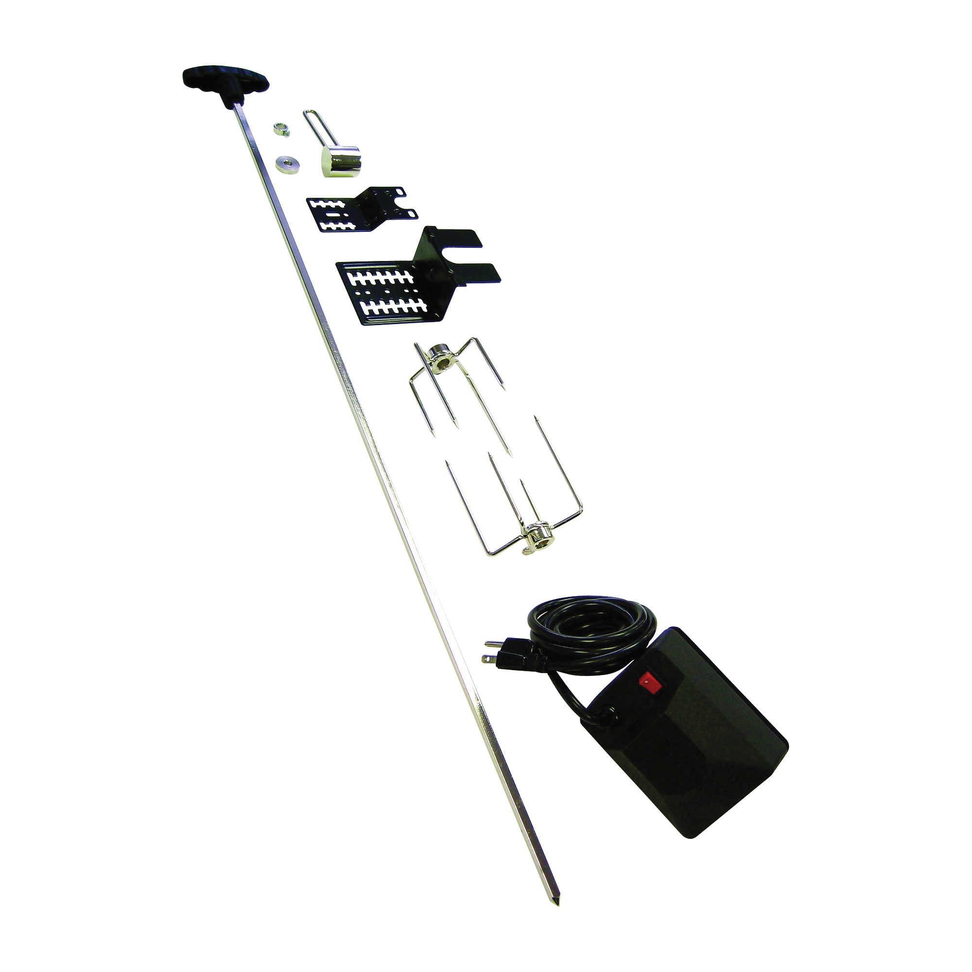 Picture of GrillPro 60090 Grill Rotisserie Kit, Universal, For: Broil King, Broil Mate, Sterling and GrillPro Grills