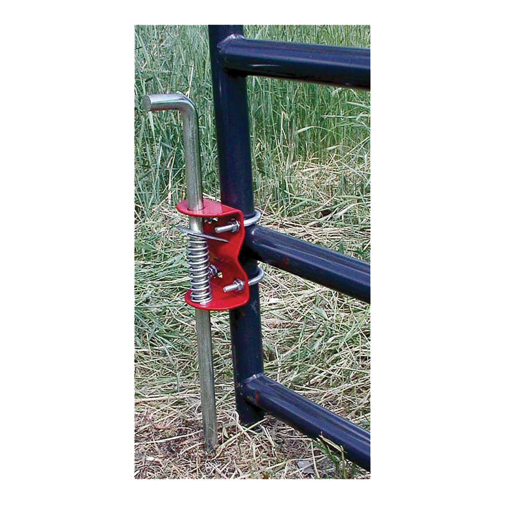 Picture of SpeeCo S16100200 Gate Anchor, Steel, Red, For: 1-5/8 to 2 in OD Round Tube Gate