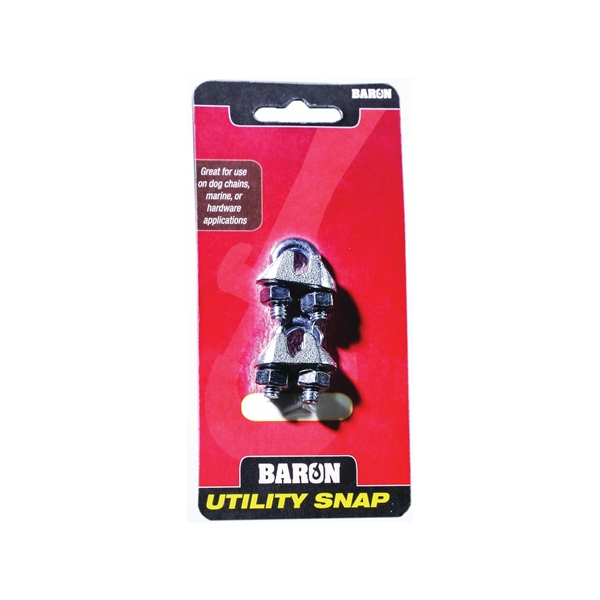 Picture of BARON C-260-3/16 Wire Rope Clip, Malleable Iron