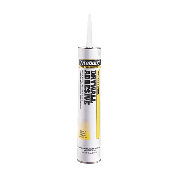 Picture of Titebond GREENchoice 5352 Drywall Adhesive, Light Beige, 28 oz Package, Cartridge