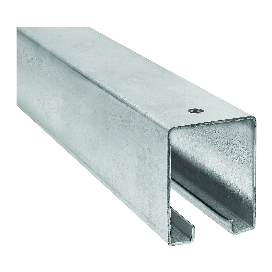 Picture of National Hardware N105-726 Box Rail, Steel, Galvanized, 1-57/64 in W, 2-13/32 in H, 8 ft L