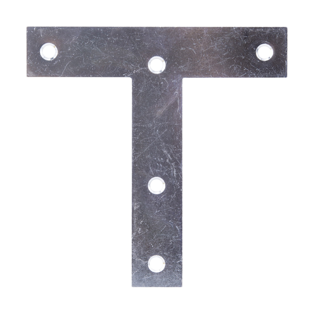 Picture of ProSource 22499ZCL3L T-Plate, 5 in L, Steel, Zinc