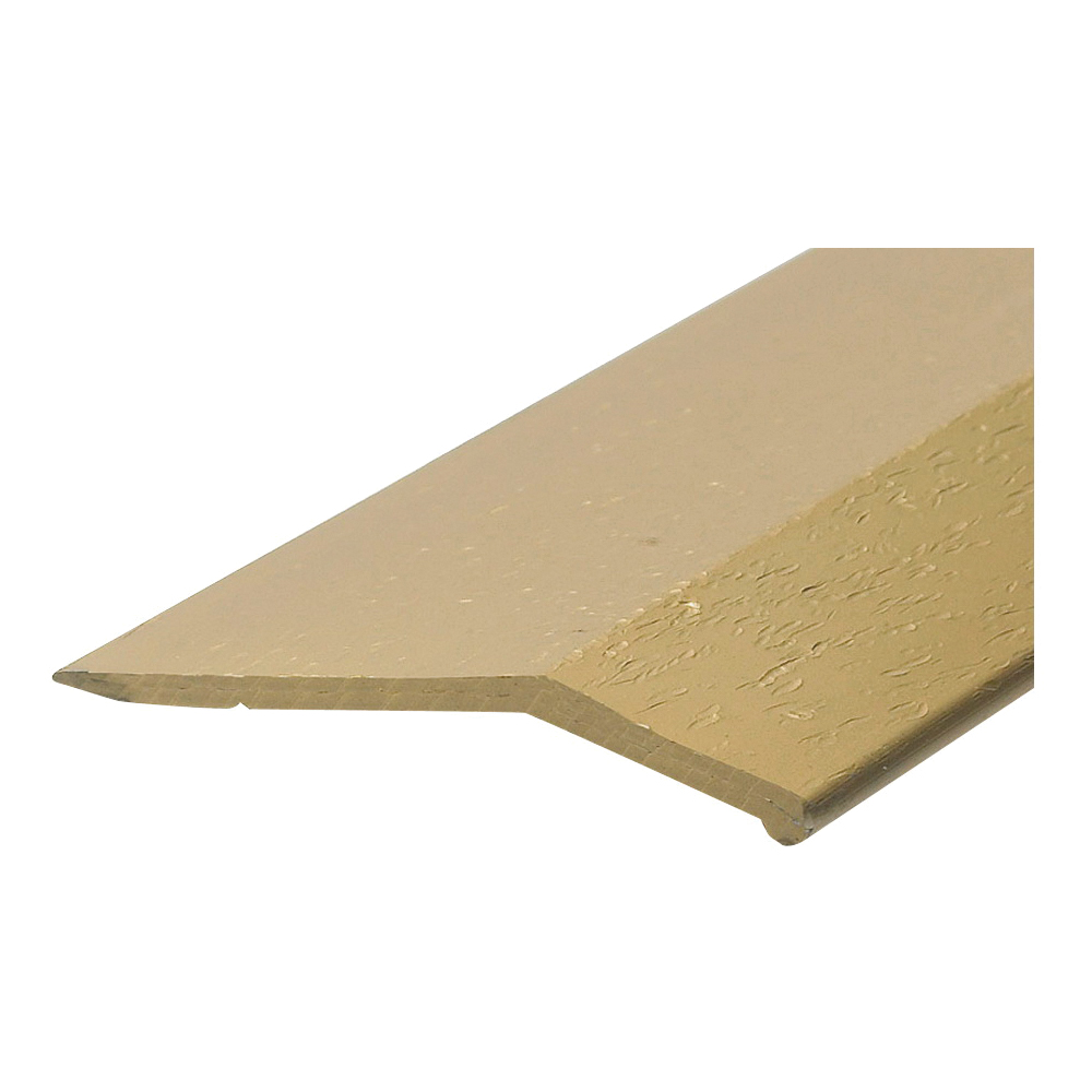 Picture of Frost King H591HG/3 Carpet Bar, 3 ft L, 1-3/8 in W, Smooth Surface, Aluminum, Gold, Hammered