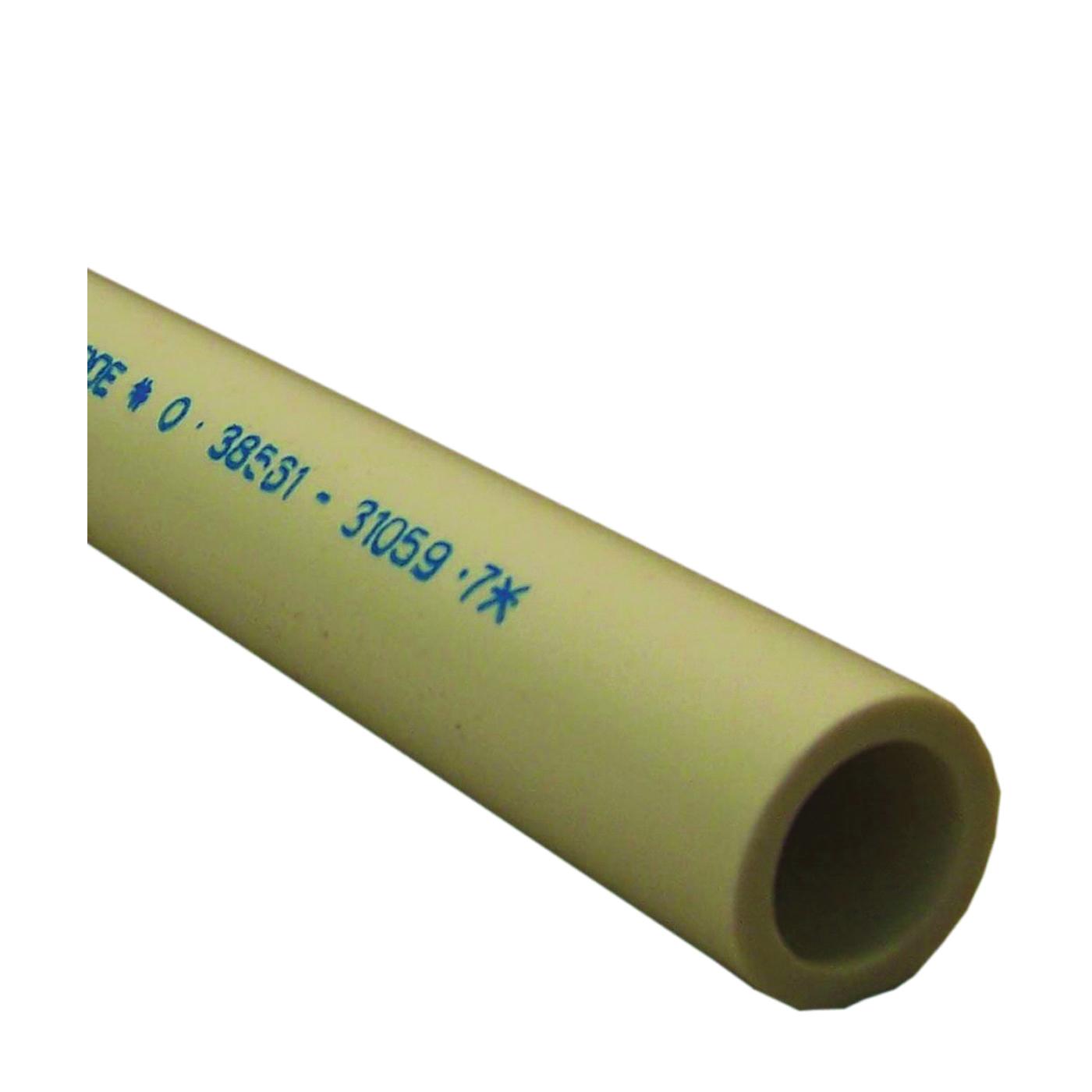 Picture of GENOVA 300 Series 310117 Pressure Pipe Plain, 10 ft L, Plain, SCH 40 Schedule