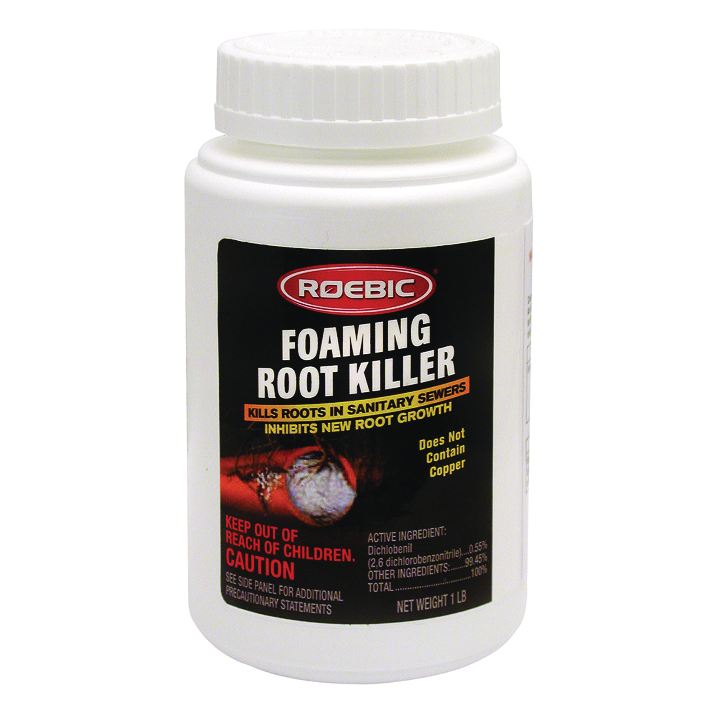 Picture of ROEBIC FRK6 Root Killer, Granular, 1 lb, Can