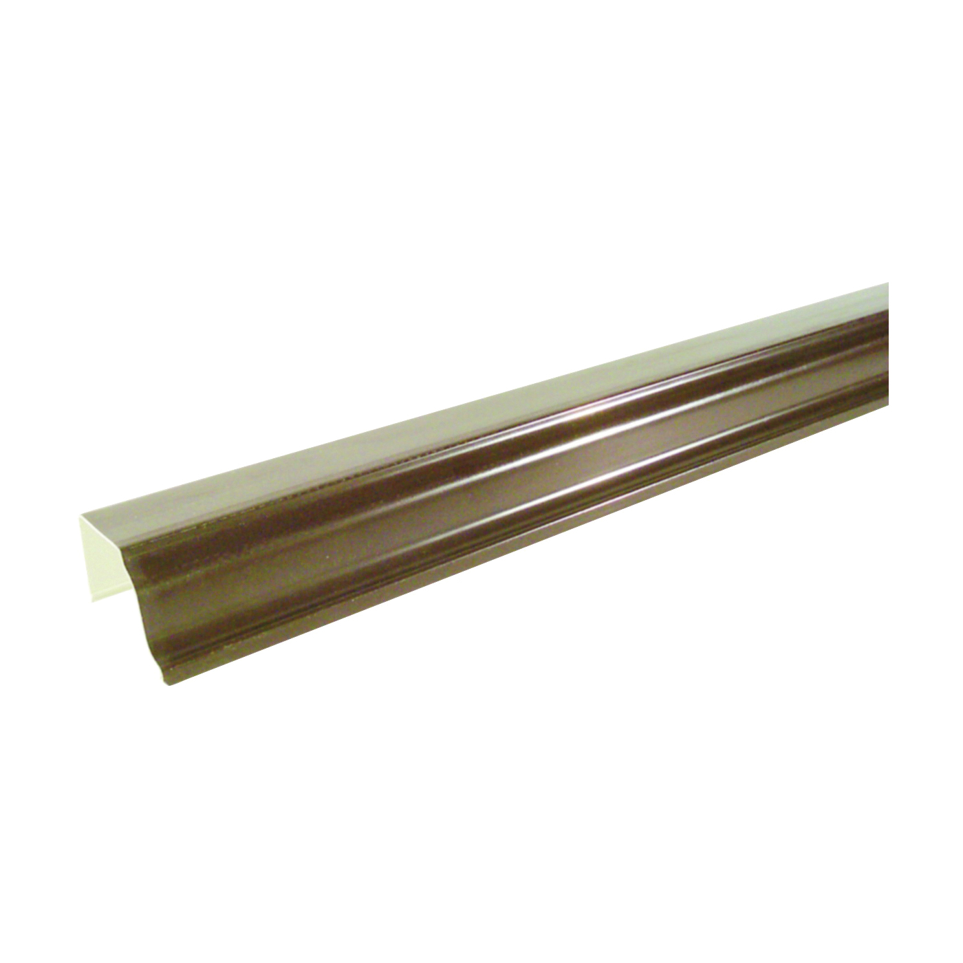 Picture of GENOVA AB100 Gutter, 10 ft L, 5 in W, Steel, Brown