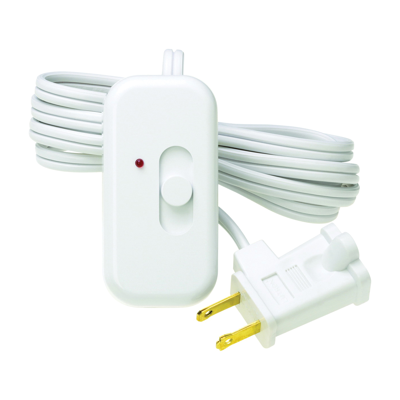 Picture of Lutron Credenza TT-300H-WH Lamp Dimmer, 2.5 A, 120 V, 300 W, Halogen, Incandescent Lamp, White
