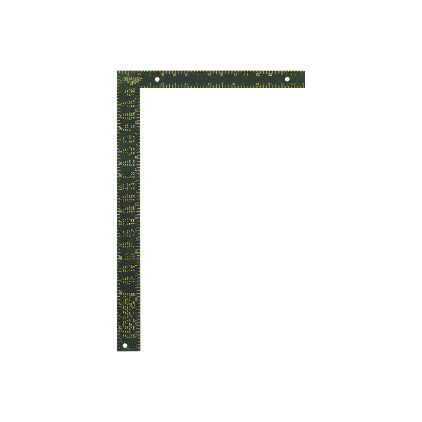 Picture of Johnson CS7 Framing Square, Aluminum