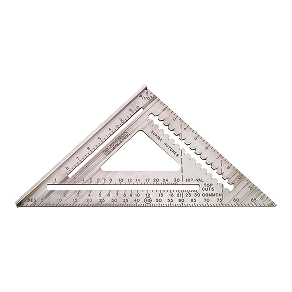 Picture of Johnson RAS-120 Rafter Square, Aluminum, 12 in L