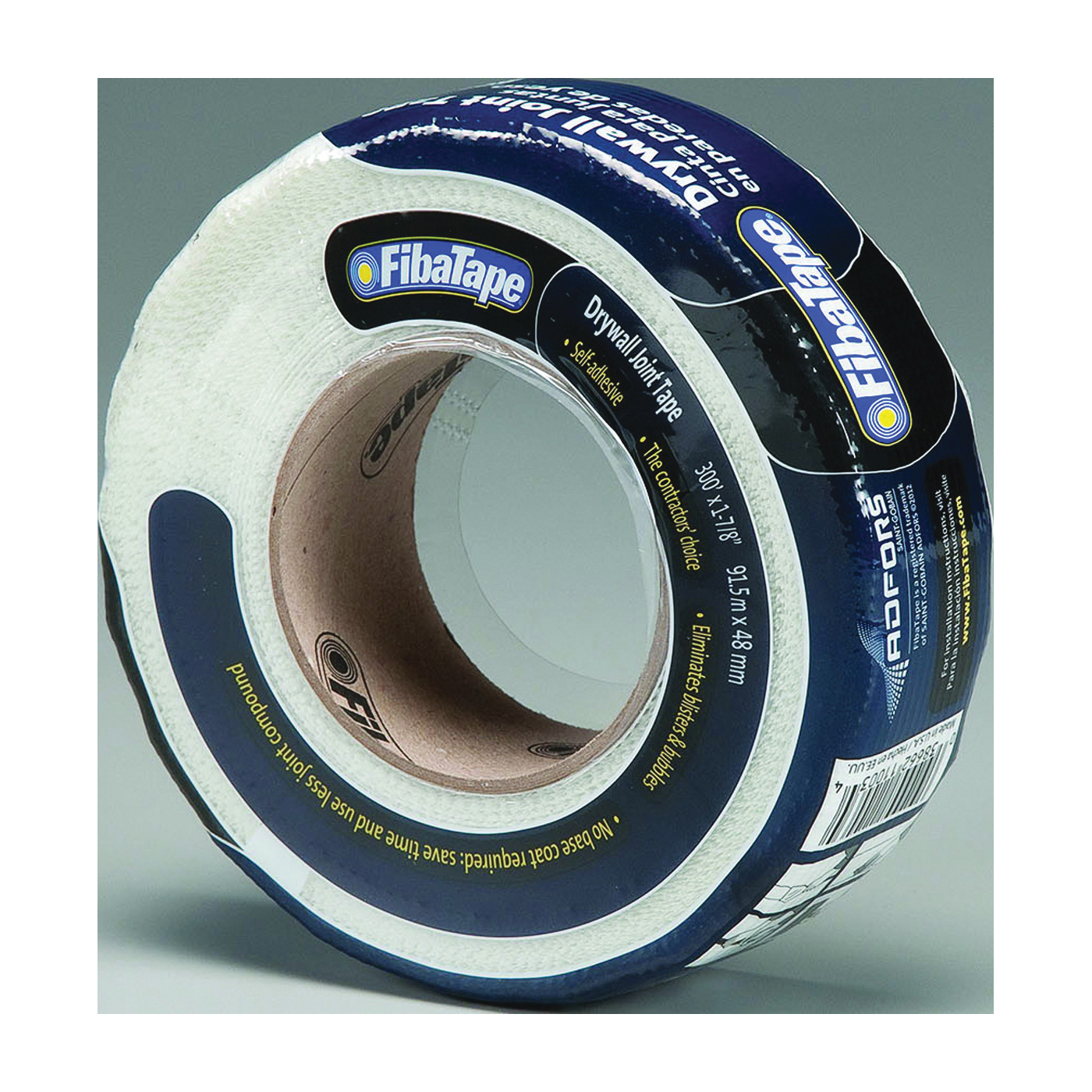 Picture of ADFORS FDW8665-U Drywall Tape Wrap, 300 ft L, 1-7/8 in W, White, Wrap