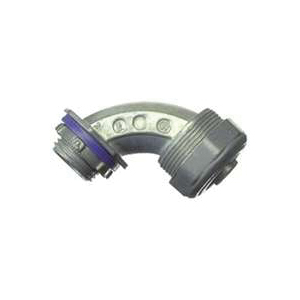 Picture of Halex 91695 Conduit Elbow, 90 deg Angle, 1/2 in Trade, Zinc