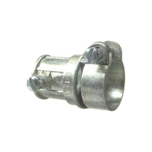 Picture of Halex 91531 EMT-to-Flex Combination Coupling, 1/2 x 1/2 in Trade, Zinc