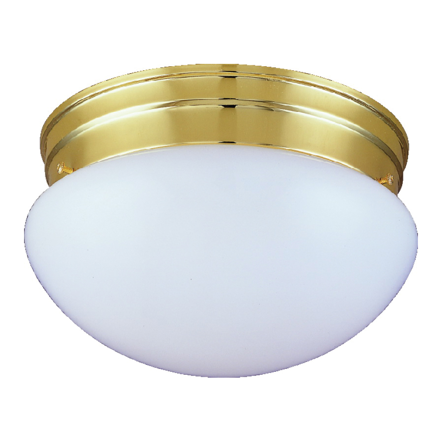 Picture of Boston Harbor F14BB02-8005-3L Ceiling Light Fixture, 2-Lamp, CFL Lamp, Polished Brass Fixture