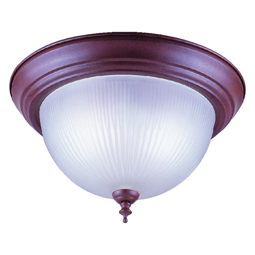 Picture of Boston Harbor F51SN02-1021F3L Ceiling Light Fixture, 60 W, 2-Lamp, CFL Lamp, Sienna Fixture