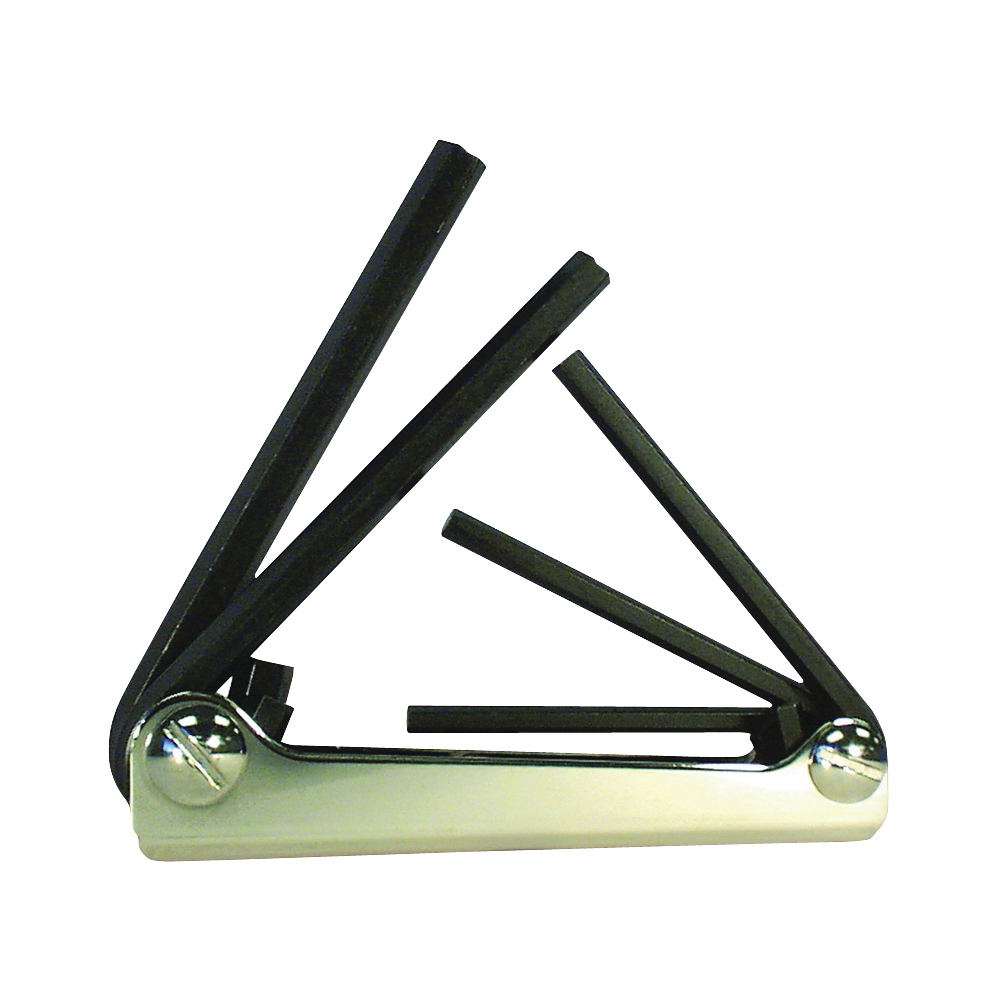 Picture of Eklind 20511 Hex Key Set, 5 -Piece, Steel, Black