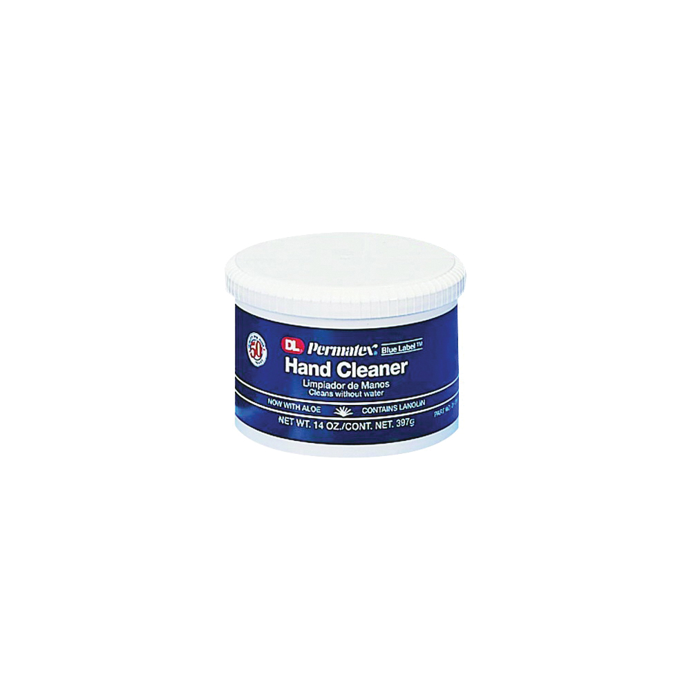 Picture of Permatex 01013 Hand Cleaner, Paste, White, Fresh, 14 oz Package, Tub
