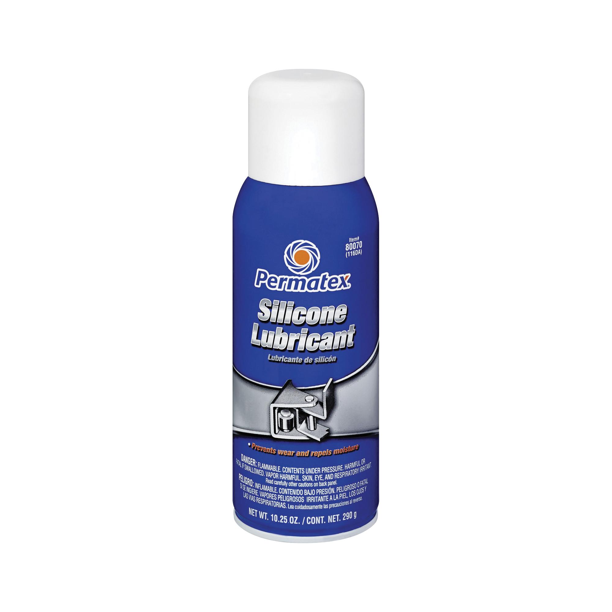 Picture of Permatex 80070 Lubricant, 16 oz Package, Aerosol Can, Liquid, Mild