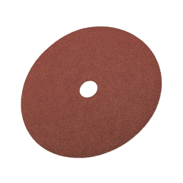 Picture of 3M 81376 Fiber Disc, 7 in Dia, 7/8 in Arbor, Coated, 50 Grit, Aluminum Oxide Abrasive, Fiber Backing