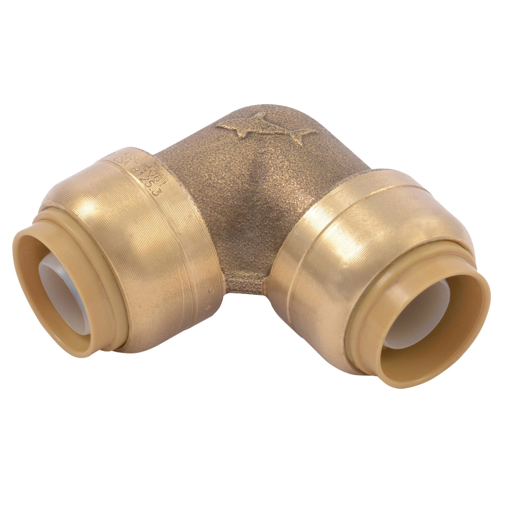 Picture of SharkBite U248LFA Tube Elbow, 1/2 in, 1/2 in, 90 deg
