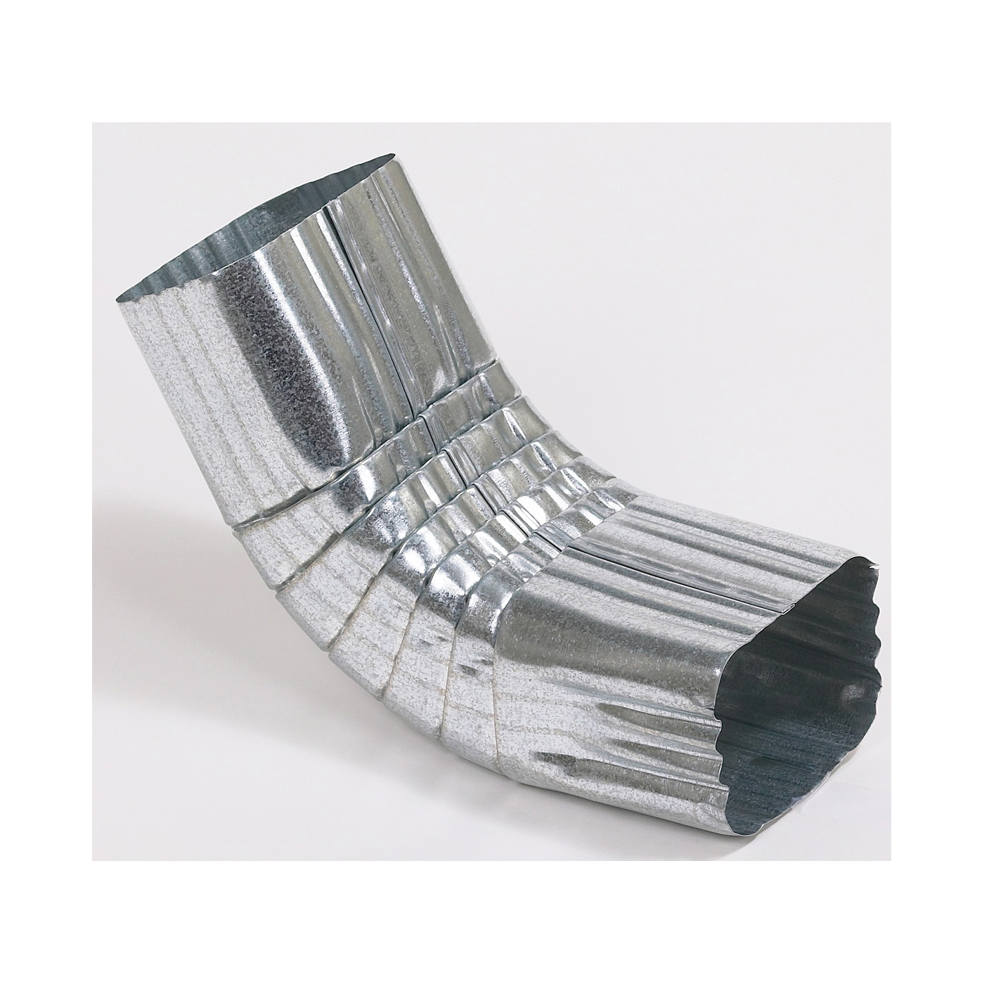 Picture of Amerimax 29264 Downspout Front Elbow, Vinyl