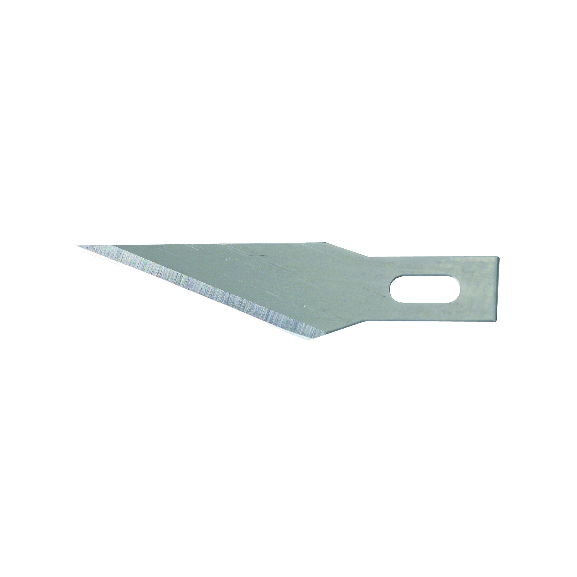 Picture of STANLEY 11-411 Hobby Knife Blade, 1-9/16 in L, Steel, 3/PK, Carded