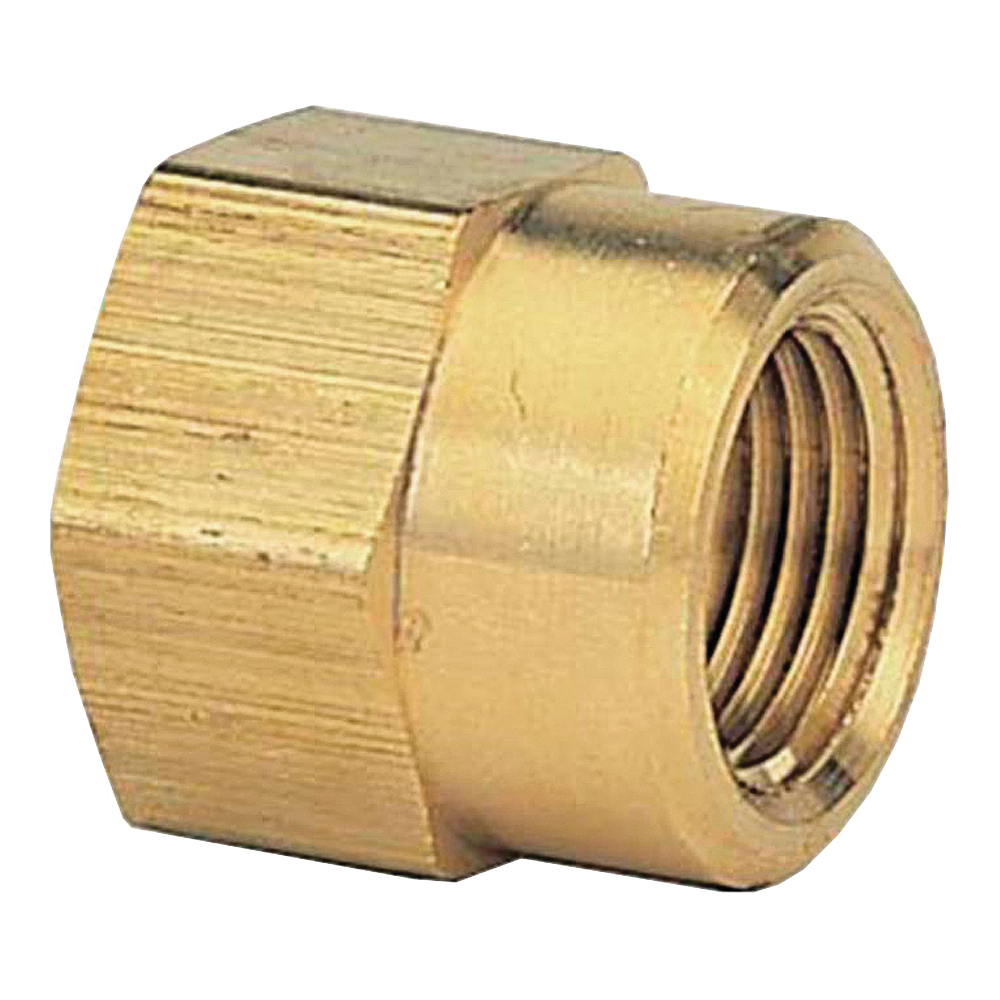 Picture of Gilmour 807074-1001 Hose Adapter, 3/4 x 3/4 in, FNPT x FNH, Brass, For: Garden Hose