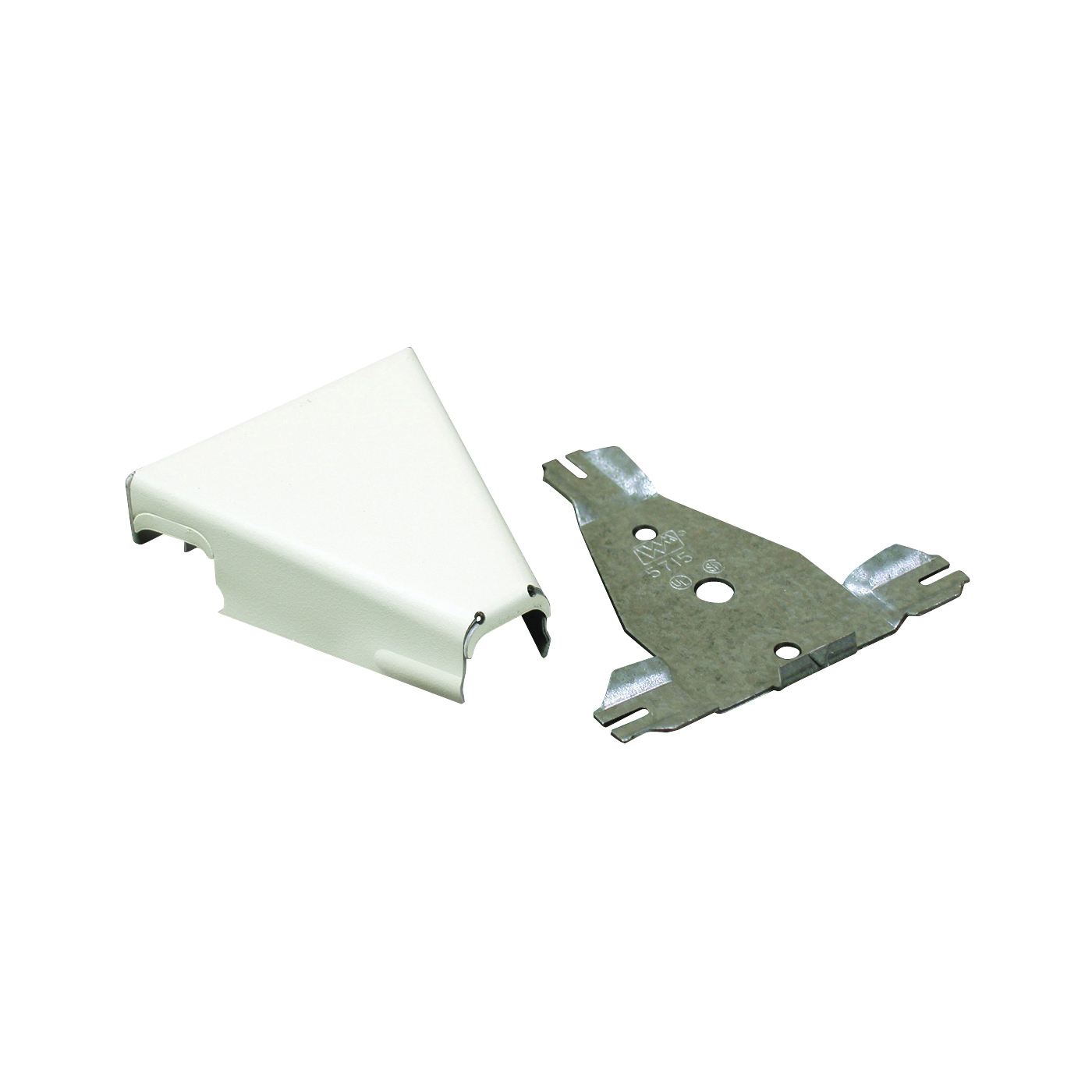Picture of Legrand Wiremold B-16 Raceway T-Fitting, Metal, Ivory