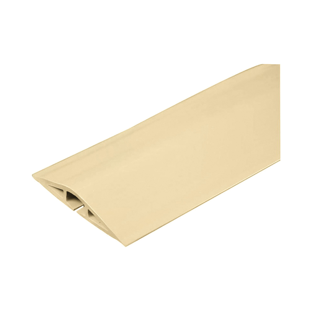 Picture of Legrand Wiremold CDI-5 Cord Protector, 5 ft L, 2-1/2 in W, Rubber, Ivory