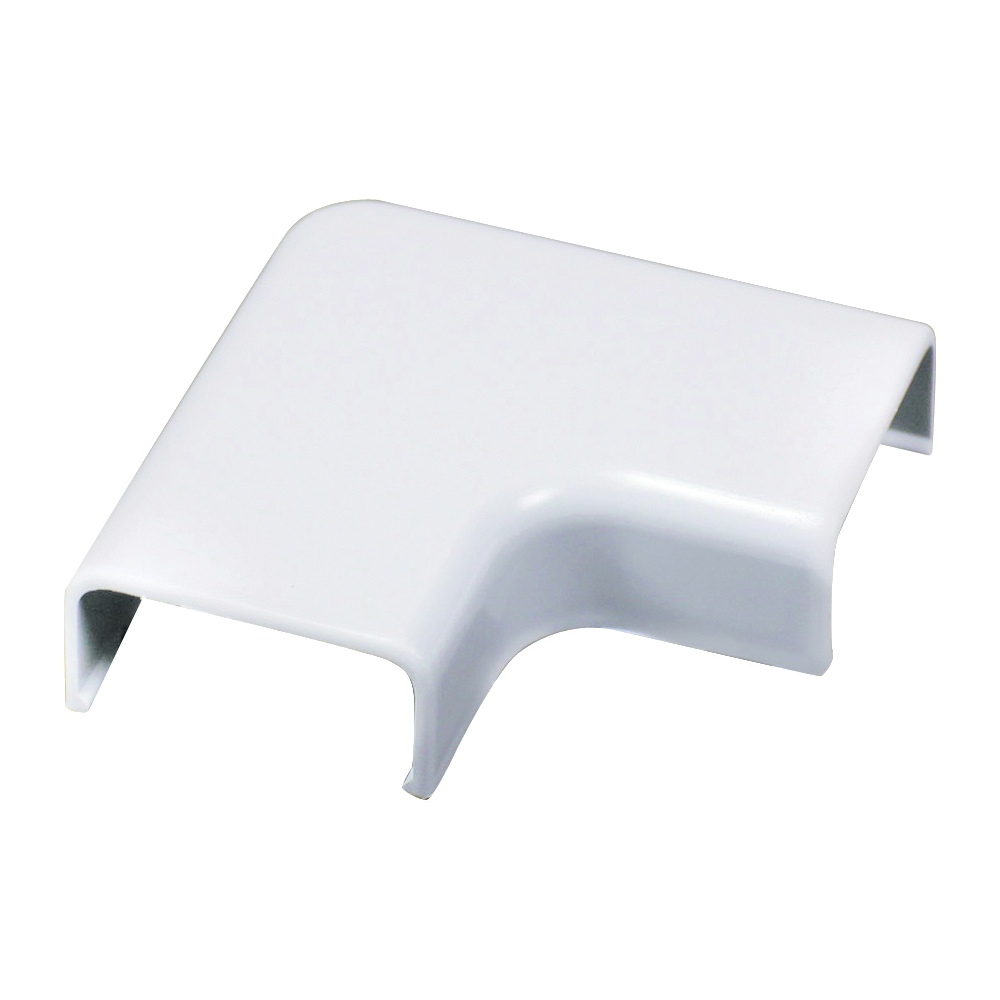 Picture of Legrand Wiremold C56 Wireway Elbow, Flat, Plastic, White