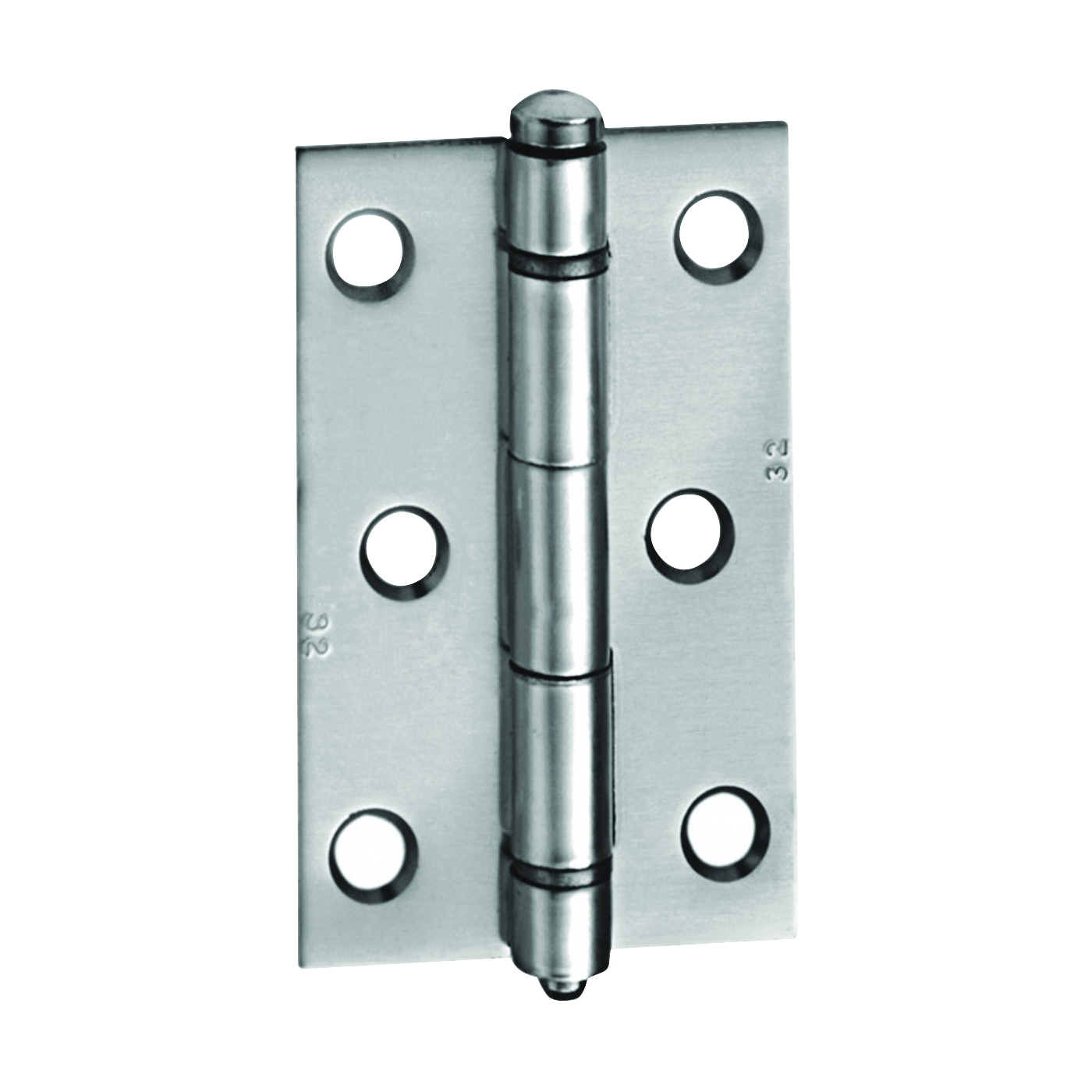Picture of National Hardware 210313 Screen Door Hinge, Aluminum, Clear, Hinged Pin