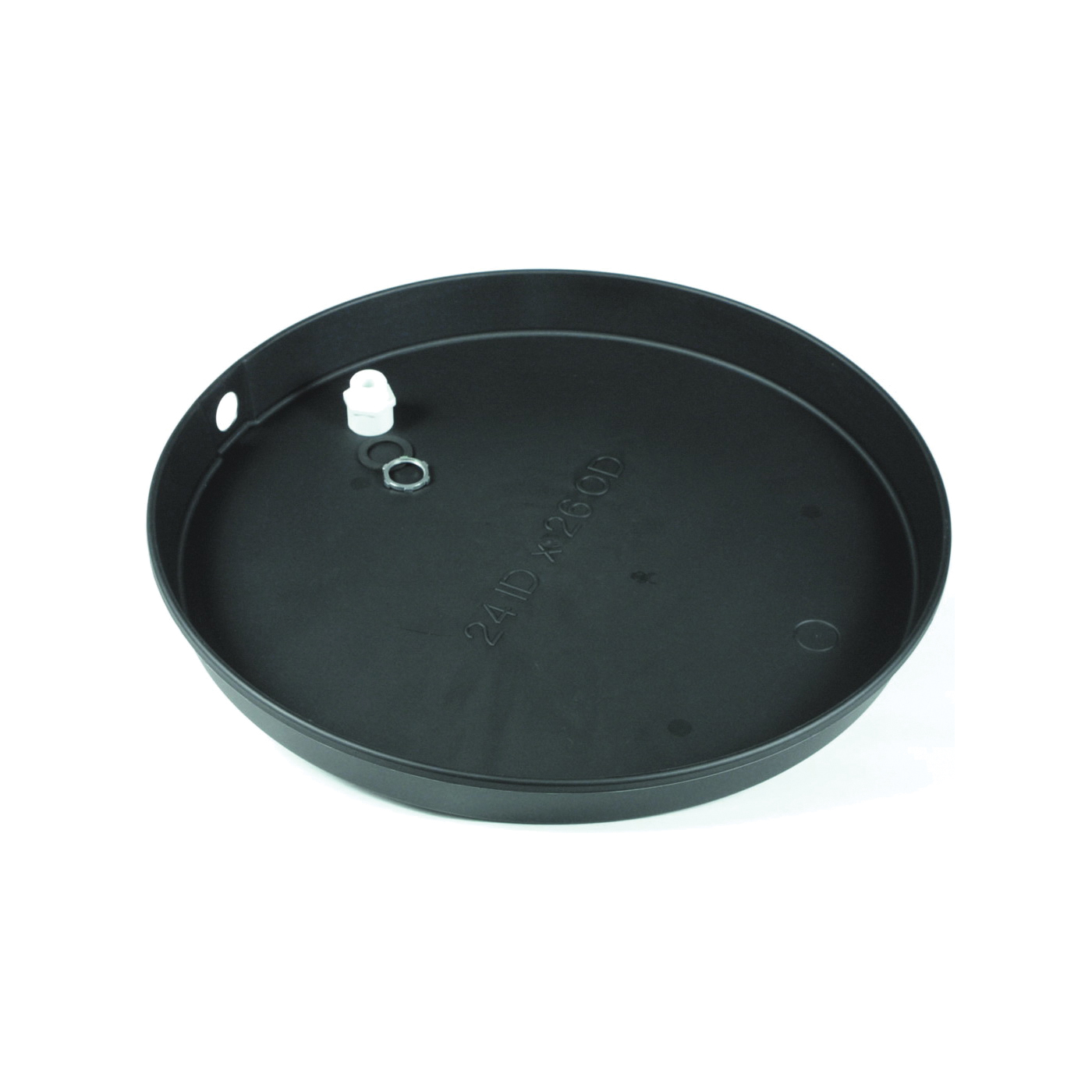 Picture of CAMCO 11460 Recyclable Drain Pan, Plastic, For: Electric Water Heaters