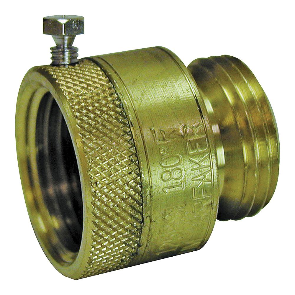 Picture of B & K ProLine 108-904 Vacuum Breaker, 3/4 in Connection, Female x Male, Brass