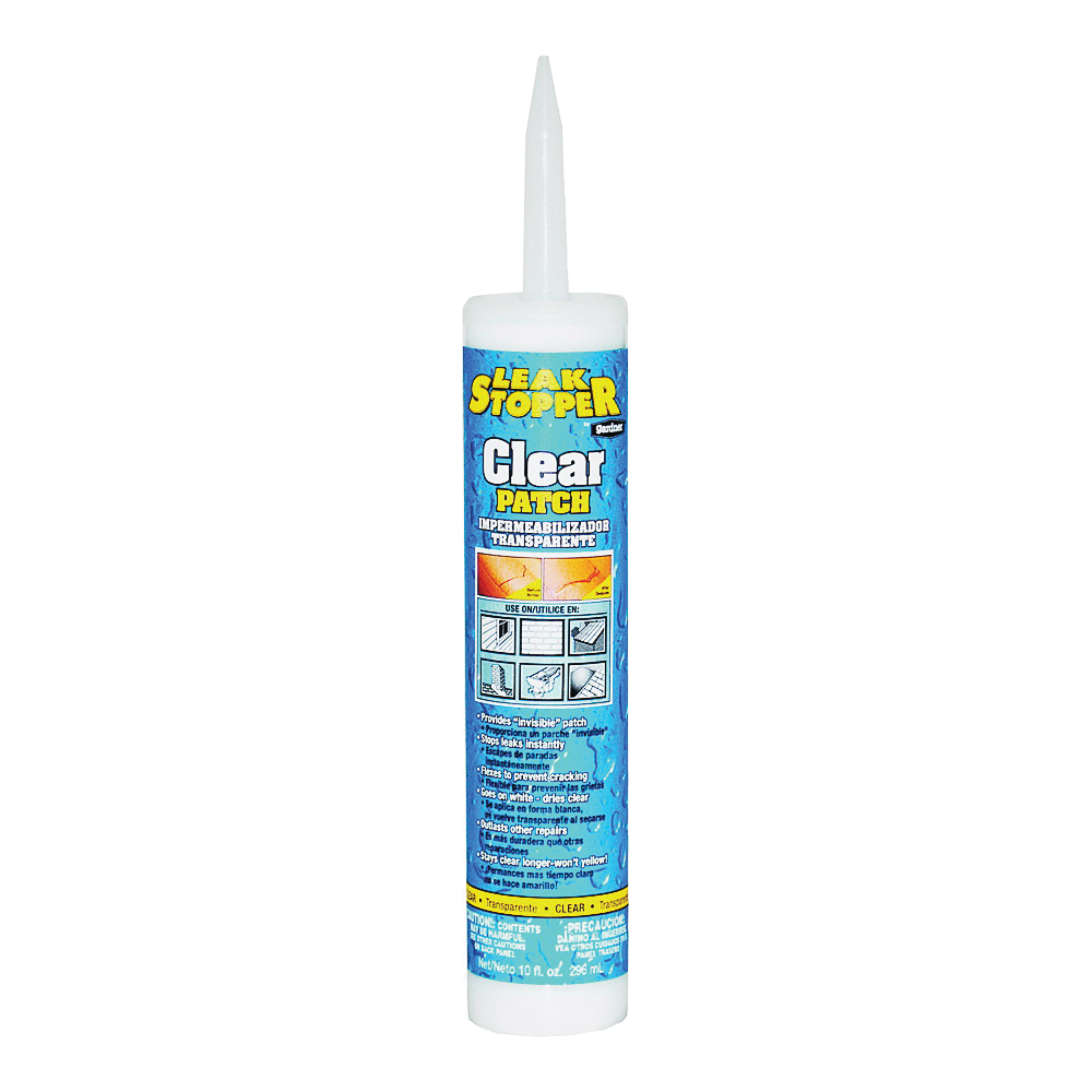 Picture of Gardner 0339-GA Rubberized Roof Patch, Thick Fluid Paste, 10 oz Package, Cartridge