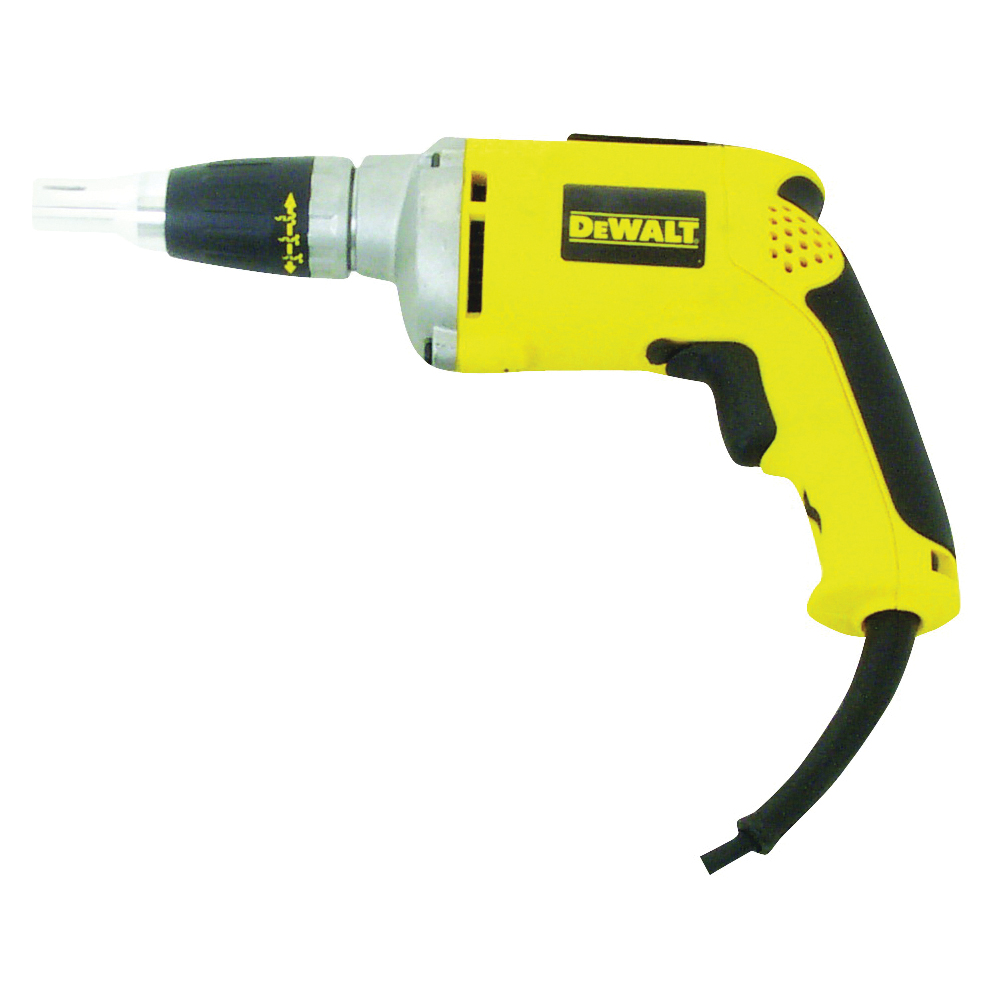 Picture of DeWALT DW272 VSR Screwgun, 120 V, 1/4 in Chuck, Hexagonal Chuck, 0 to 4000 rpm Speed, 81 in-lb
