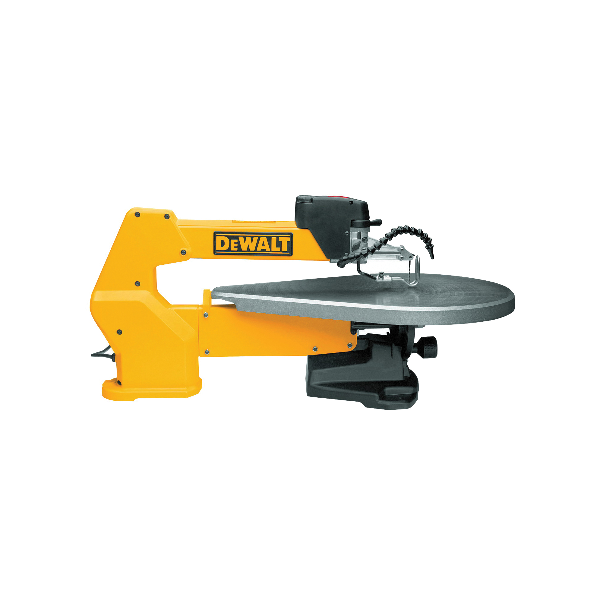 Picture of DeWALT DW788 Scroll Saw, 120 V, 1.3 A, 5 in L Blade, 13/16 in Cutting Capacity, 400 to 1750 spm SPM